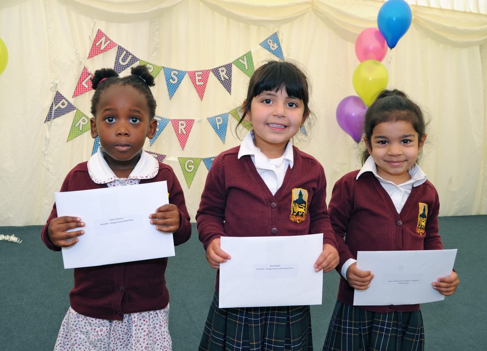 Nursery and Lower Prep prize giving 2016
